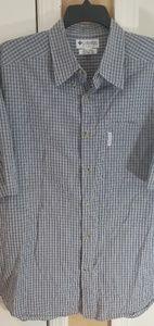 Columbia men's button down S/S shirt